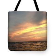 Slanted Setting Tote Bag by K Simmons Luna