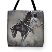 Slapping Leather Tote Bag