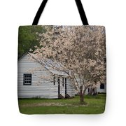 Slave Cabins At Magnolia Plantation - Summerville Sc Tote Bag