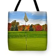 Sleep Hollow Brecksville Ohio Tote Bag by Frozen in Time Fine Art Photography