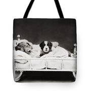 Sleep Over Tote Bag by Aged Pixel