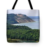 Sleeping Bear Dunes Overlook Tote Bag