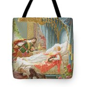 Sleeping Beauty And Prince Charming Tote Bag