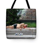 Sleeping Beauty On The High Line Tote Bag