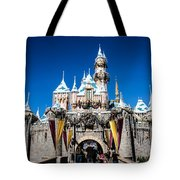 Sleeping Beauty's Castle Tote Bag