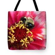 Sleeping Bumble Bee Tote Bag