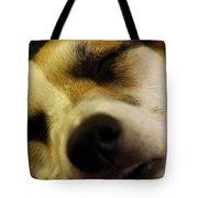 Sleeping Corgi Tote Bag
