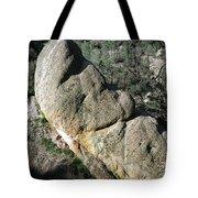 1b6434-sleeping Giant Rock Tote Bag