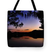 Sleeping Sun Tote Bag by Kaye Menner