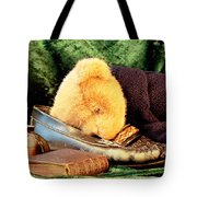 Sleeping Teddy Tote Bag
