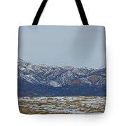 Sleeping Ute Mountain Tote Bag