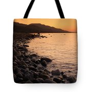 Sleepy Morning Tote Bag