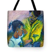 Sleepy Tears				 Tote Bag