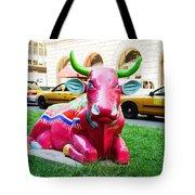 Cow Parade N Y C 2000 - Sleepy Time Cow Tote Bag