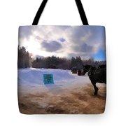 Sleigh Rides Tote Bag