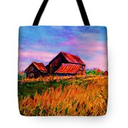 Slendor In The Grass Tote Bag
