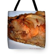 Slice Of Apple Tart Tote Bag