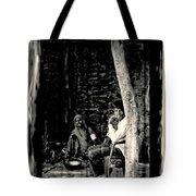 Slice Of Life Mud Oven Chulha Tandoor Indian Village Rajasthani 1e Tote Bag