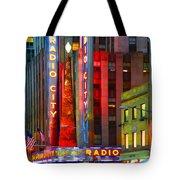 Slice Of Life Nyc-holiday Hustle Tote Bag