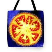 Sliced Tomato Tote Bag