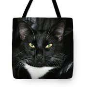 Slick The Black Cat Tote Bag