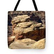 Slickrock Canyon Formations Tote Bag