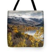 Slide Lake Tote Bag