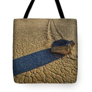 Sliding Rock Of Racetrack Playa Tote Bag
