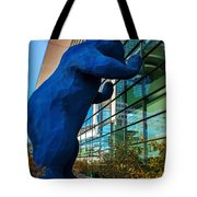 Slightly Blurry Denver Bear Tote Bag