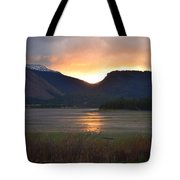 Slipping Into The Night Tote Bag