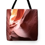 Slot Canyon Color Blend Tote Bag
