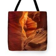 Slot Canyon Detail Corkscrew Or Upper Antelope Slot Canyon Arizona Tote Bag
