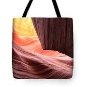 Slot Canyon Sun Tote Bag