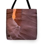 Slot In Palo Duro Canyon 110213.50 Tote Bag