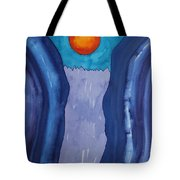Slot Retablo Original Painting Tote Bag