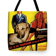 Sloughi Art - Love Is My Profession Movie Poster Tote Bag