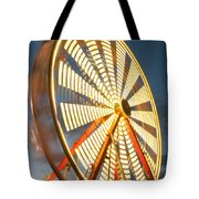 Slow Down The Ferris Wheel Tote Bag