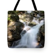 Slow Shutter Waterfall Scotland Tote Bag