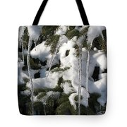 Slow Snow Melt Tote Bag