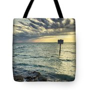 Slow Speed Sign Tote Bag by Eyzen M Kim