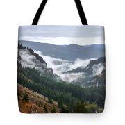 Sly Fog Dance Tote Bag