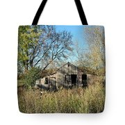 Small Abandoned Shed Tote Bag