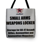 Small Arms Signage Russian Submarine Tote Bag