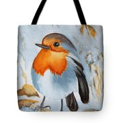 Small Bird Tote Bag