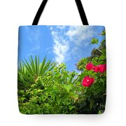Small Blooms Tote Bag