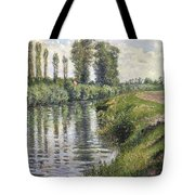 Small Branch Of The Seine At Argenteuil Tote Bag