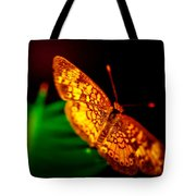 Small Butterfly Tote Bag