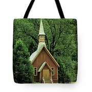 Small Chapel  Tote Bag