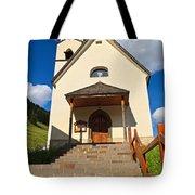 small church in Penia Tote Bag