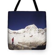 Small Climber Big Peaks Tote Bag